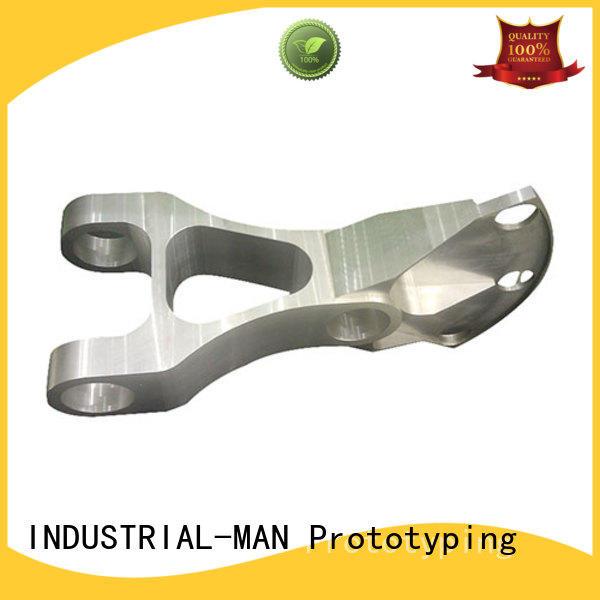 INDUSTRIAL-MAN Brand brass material custom aluminium cnc service