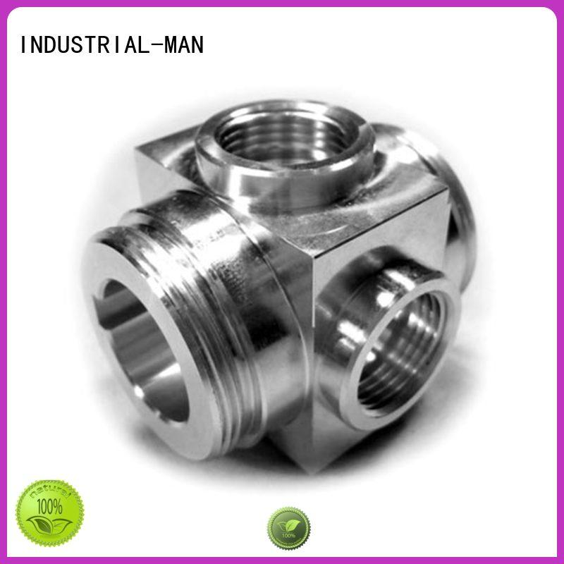 INDUSTRIAL-MAN functional cnc metal parts brass for cnc prototype
