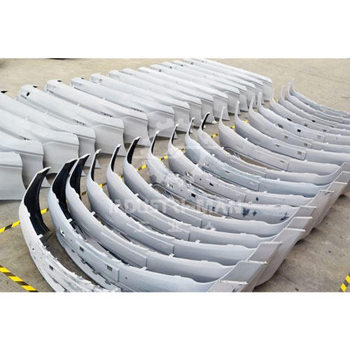 Car bumper with rapid tooling
