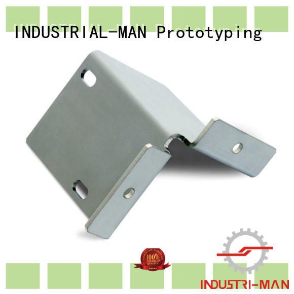 bending aluminum machining service for cnc prototype INDUSTRIAL-MAN