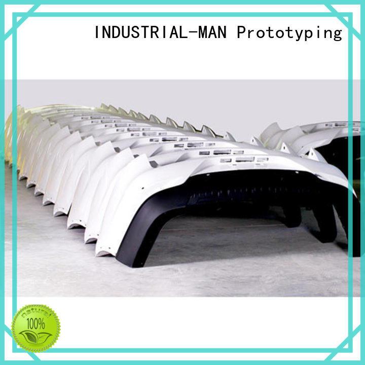 INDUSTRIAL-MAN customization rapid prototyping materials manufacturers