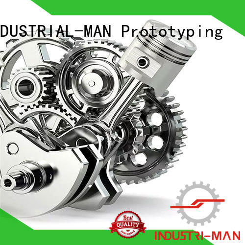 custom machined parts customization service for component INDUSTRIAL-MAN