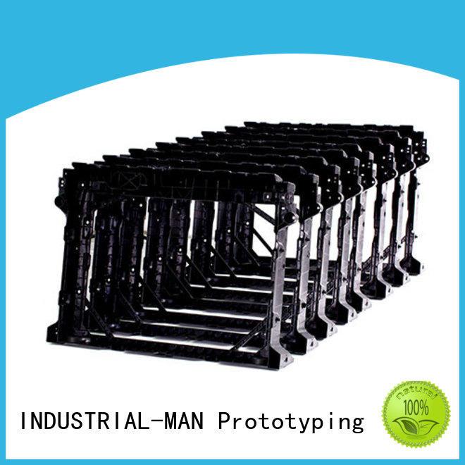 INDUSTRIAL-MAN custom plastic machining company factory