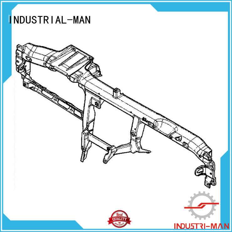 rapid manufacturing bumper for dieing INDUSTRIAL-MAN
