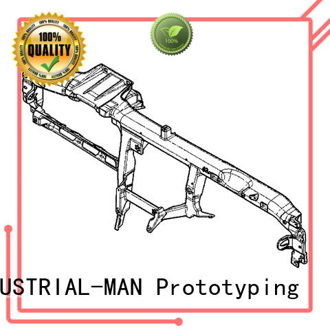 INDUSTRIAL-MAN bumper rapid manufacturing factory price for fast tooling