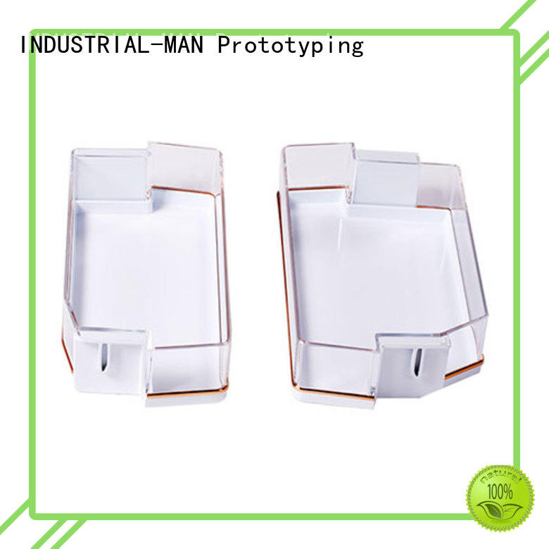 INDUSTRIAL-MAN machined robot plastic casting process manufacturers