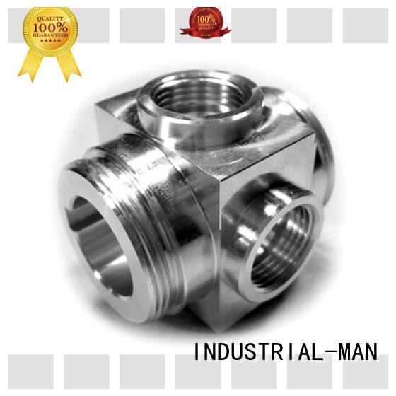 INDUSTRIAL-MAN cnc metal parts company