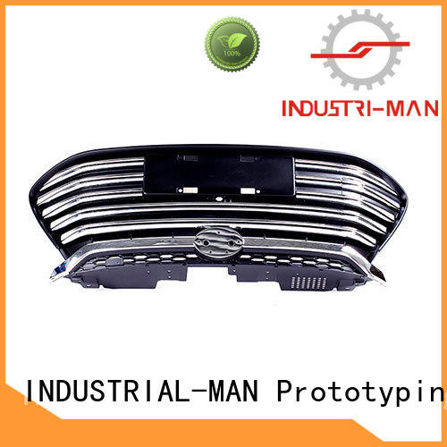 prototype machining grill for abs INDUSTRIAL-MAN
