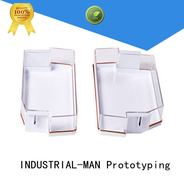 robot grill plastic machining INDUSTRIAL-MAN manufacture