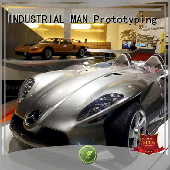 INDUSTRIAL-MAN clay prototype manufacturing process manufacturers