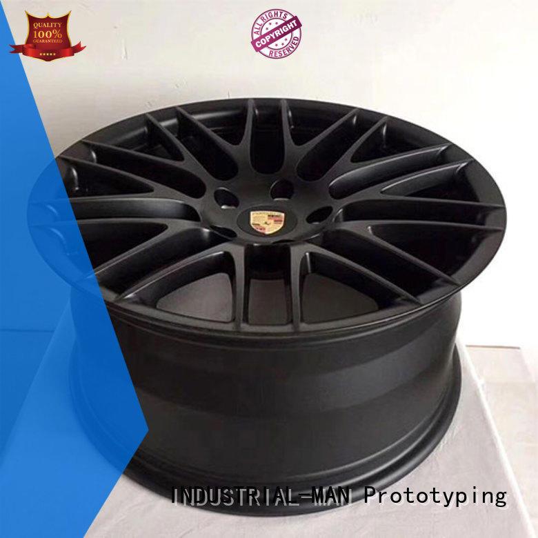 INDUSTRIAL-MAN functional custom cnc aluminum parts free sample for wheel