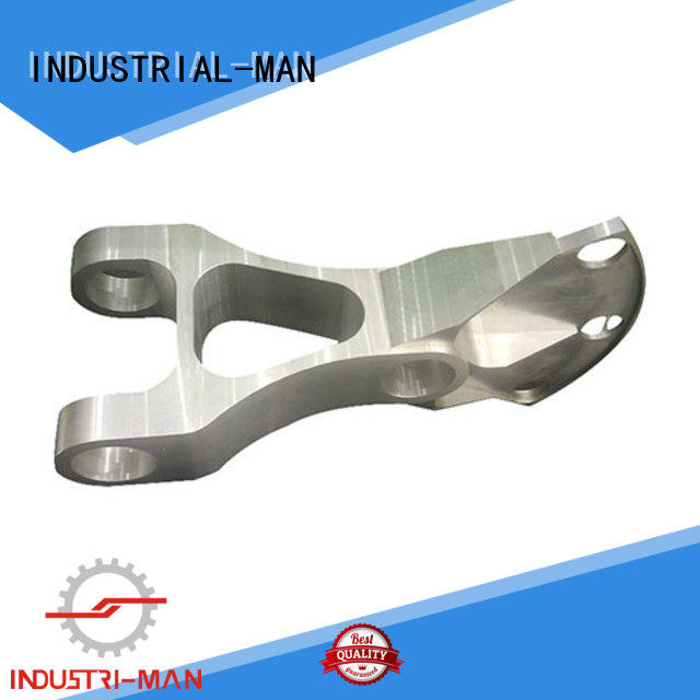 INDUSTRIAL-MAN functional aluminium cnc service stainless steel for wheel