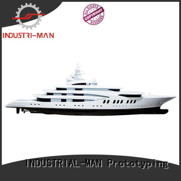 INDUSTRIAL-MAN best quality CNC plastic prototype supplier for parts