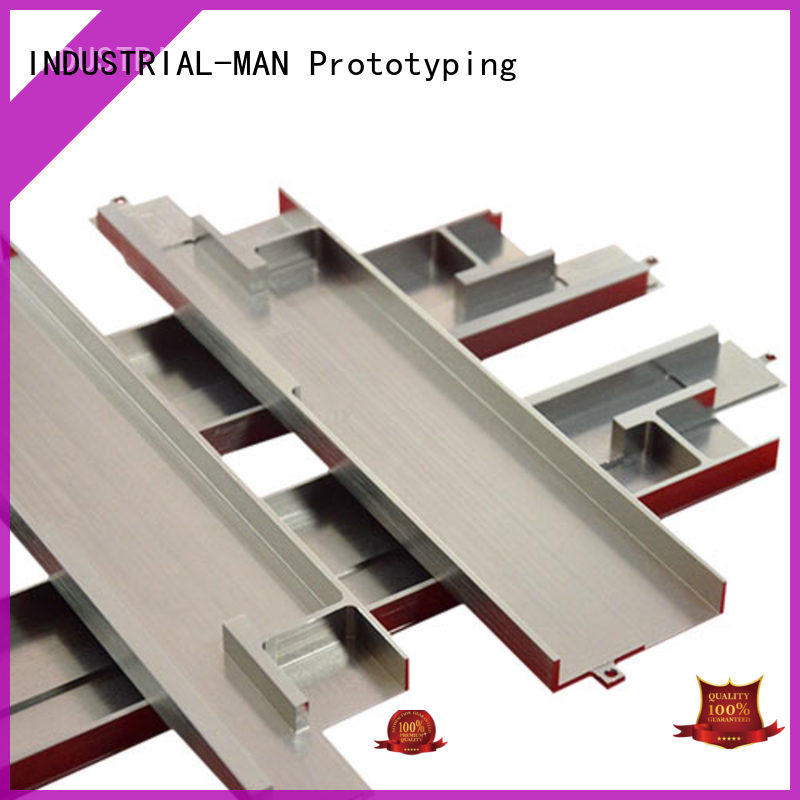 INDUSTRIAL-MAN aluminum parts rapid prototyping software customization for stamping