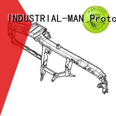 INDUSTRIAL-MAN rapid machining services factory