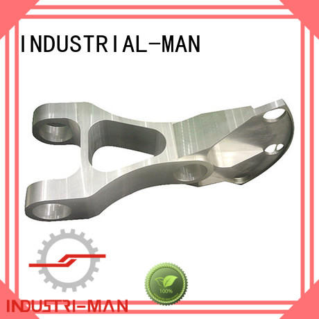 custom cnc aluminum parts brass INDUSTRIAL-MAN