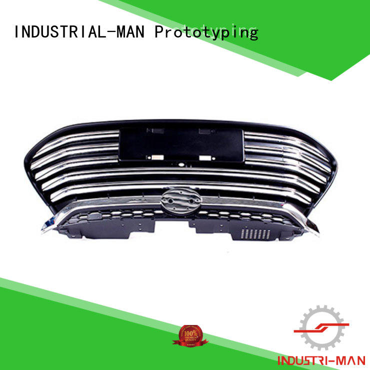 cnc parts clear for door INDUSTRIAL-MAN