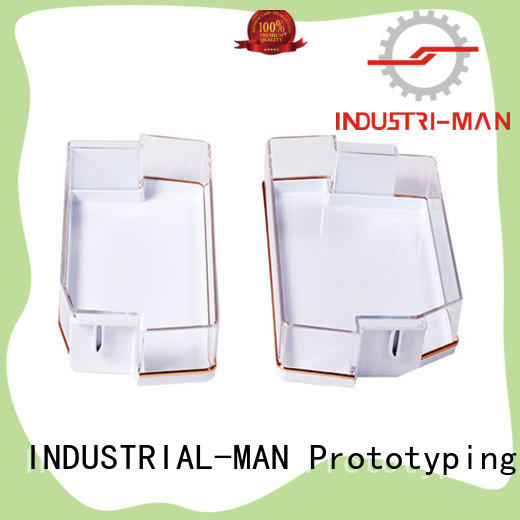 custom made cnc plastic prototype home appliance INDUSTRIAL-MAN