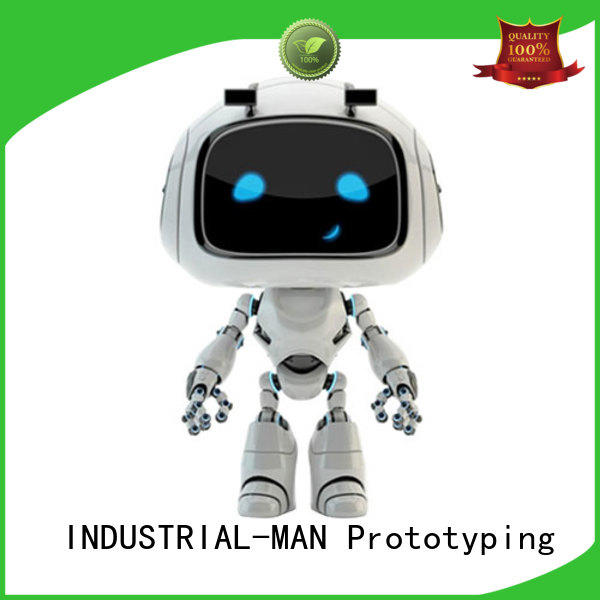 INDUSTRIAL-MAN clear cnc plastic prototype order now for prototype