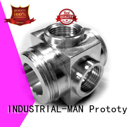 INDUSTRIAL-MAN high-end aluminum machining service