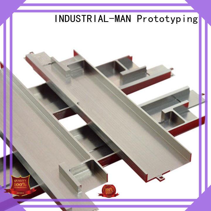 customization sls rapid prototyping bumper for metal stamping INDUSTRIAL-MAN