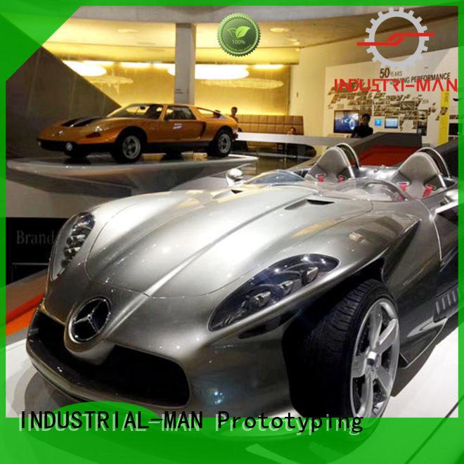 exhibition cnc car parts free sample INDUSTRIAL-MAN