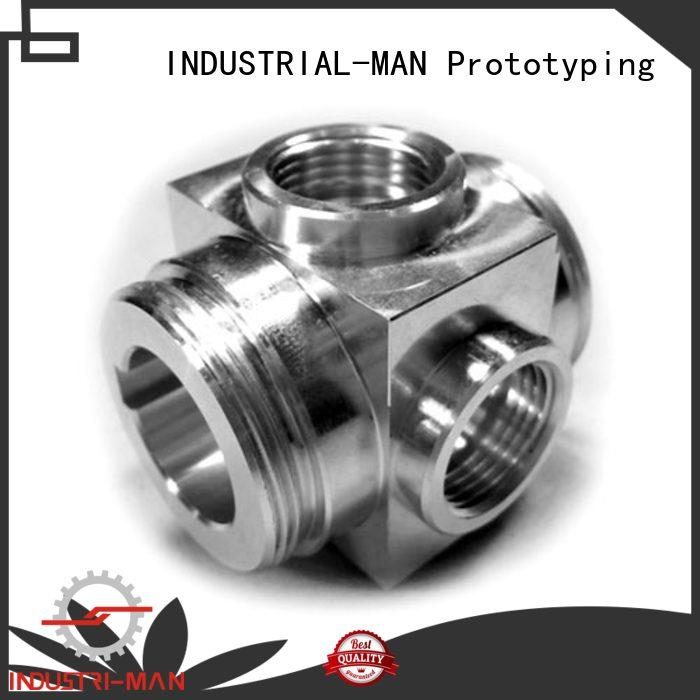 custom aluminium machining order now for car INDUSTRIAL-MAN
