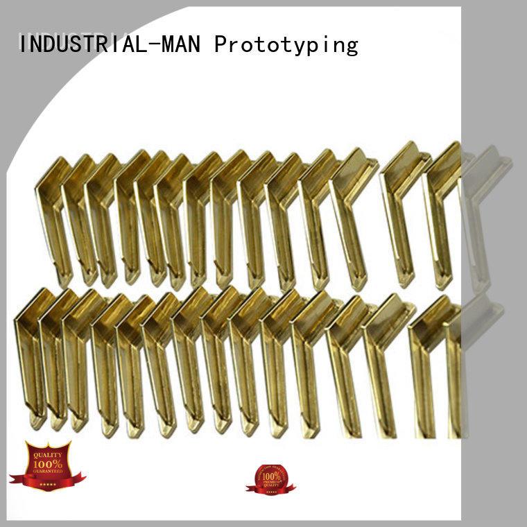 INDUSTRIAL-MAN tailored aluminum cnc service free sample