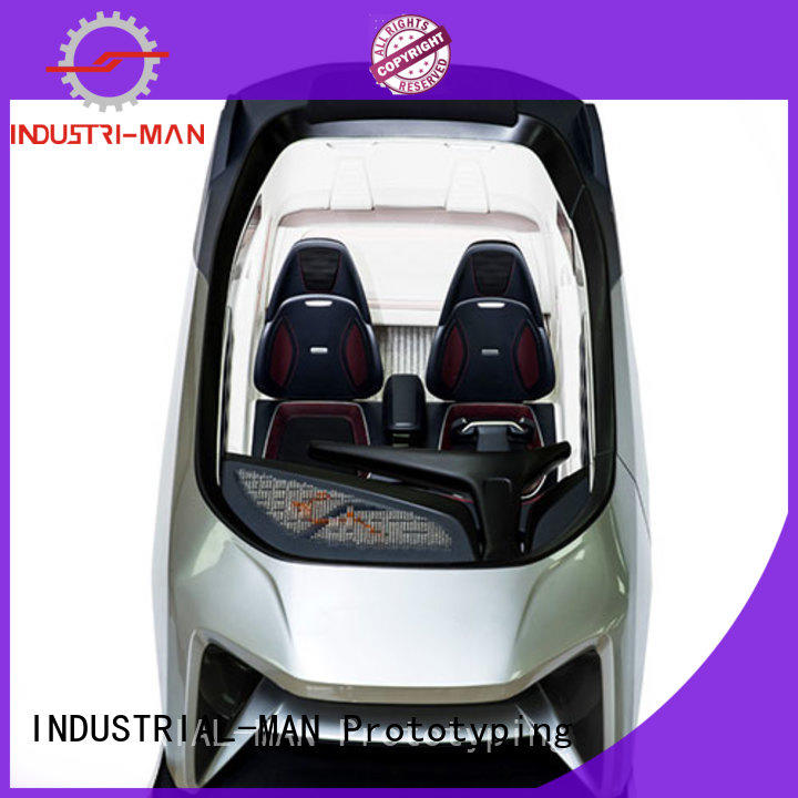 INDUSTRIAL-MAN best price custom plastic fabrication home appliance for prototype