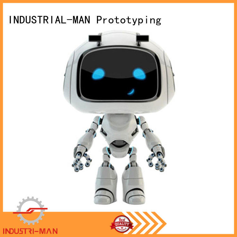 custom plastic parts for model INDUSTRIAL-MAN