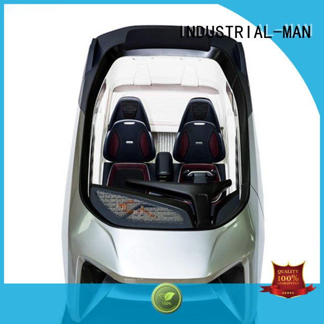plastic machining robot home prototype INDUSTRIAL-MAN Brand mini cnc