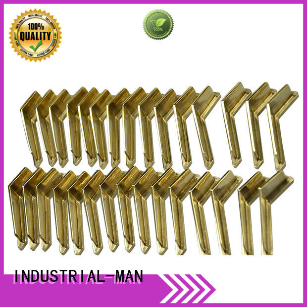 INDUSTRIAL-MAN Brand car machined bending cnc aluminum manufacture