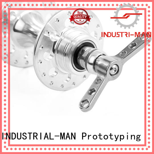 on machined cnc aluminum work INDUSTRIAL-MAN company
