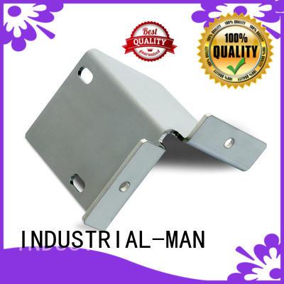 INDUSTRIAL-MAN Brand car brass cnc aluminum bending factory