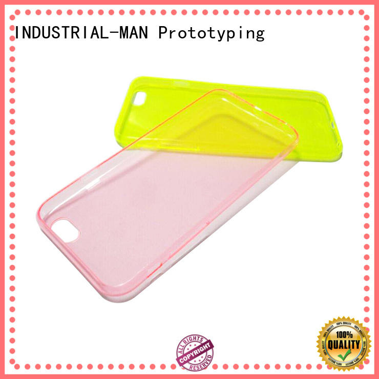 prototype by plastic vacuum casting INDUSTRIAL-MAN Brand company