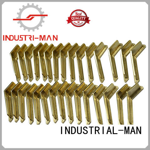 INDUSTRIAL-MAN Brand steel custom cnc parts aluminum supplier