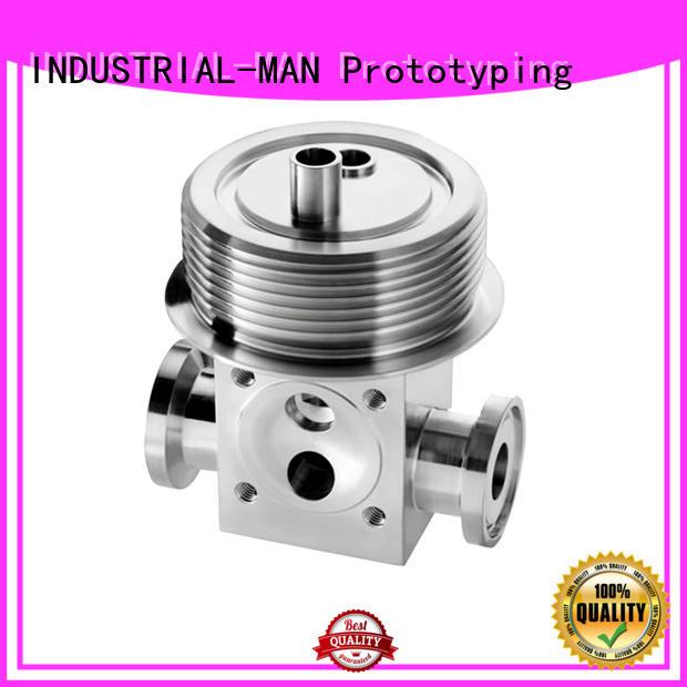 custom cnc parts aluminum precision on INDUSTRIAL-MAN Brand company