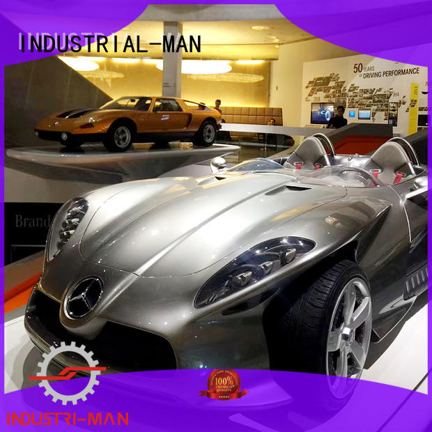 models made lights INDUSTRIAL-MAN Brand cnc motorcycle parts factory