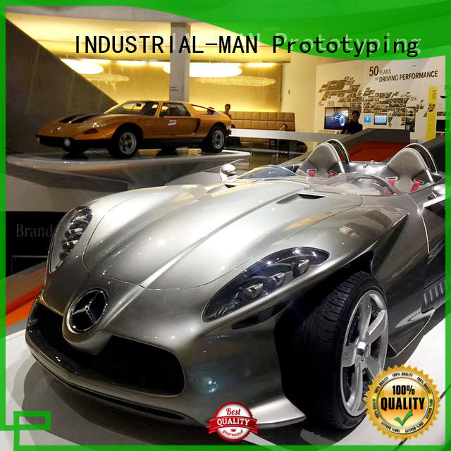 cnc motorcycle parts on models made INDUSTRIAL-MAN Brand cnc automotive