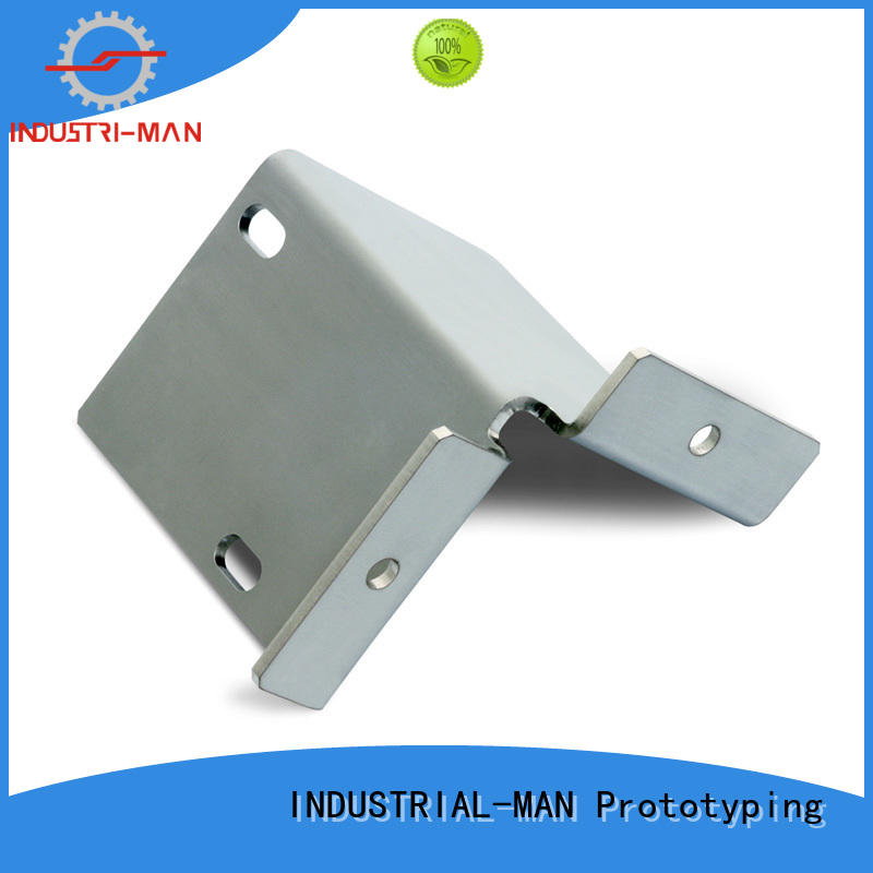 INDUSTRIAL-MAN Brand precision cnc aluminum bending factory