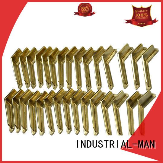 Custom steel cnc aluminum machined INDUSTRIAL-MAN